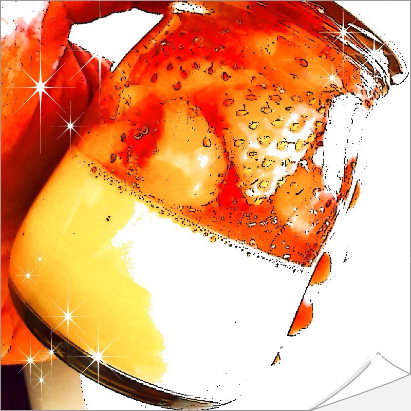 【グルメ探偵局】桃の香りの苺「ももみ」が入った期間限定桃薫のプリン&ゼリー!